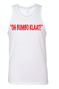 Oh Bumbo Klaat White Tank (Mens)