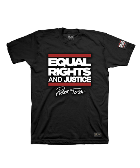 Limited Edition 2019 Peter Tosh Equal Rights And Justice Tee