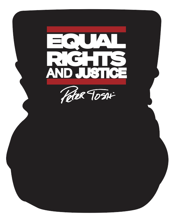 Peter Tosh Multi Use Face Shield - Equal Rights And Justice