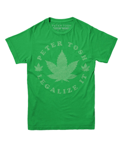 Green Legalize It Leaf Tee