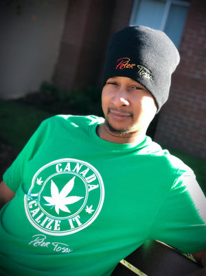 Peter Tosh Legalize It Canada Tee - Green
