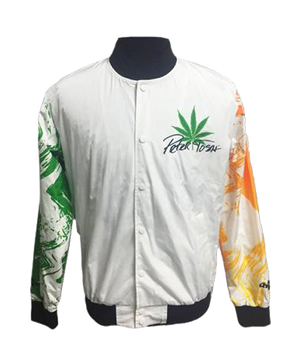 PETER TOSH CHALK LINE LEGENDS FANIMATION JACKET - Legalize It Line