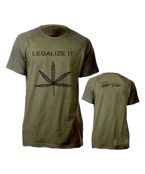 Peter Tosh Legalize It Raglan Tee