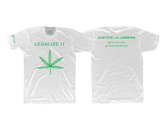 Justice For Jawara Legalize It Tee