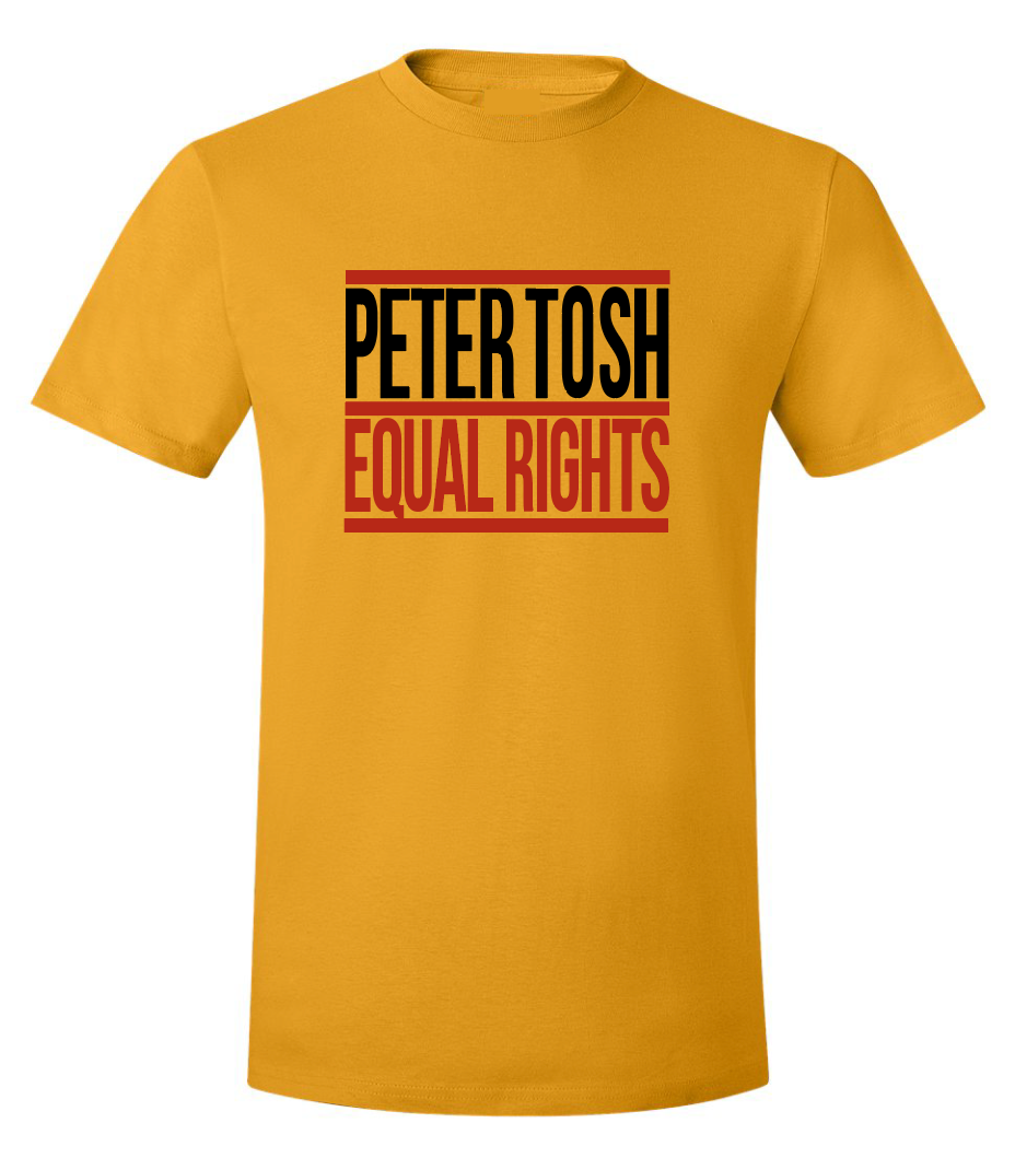 PETER TOSH Equal Rights No Peace Tee