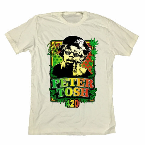Peter Tosh 420 Rasta - White