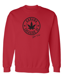 Peter Tosh Legalize It Canada Crew - Red