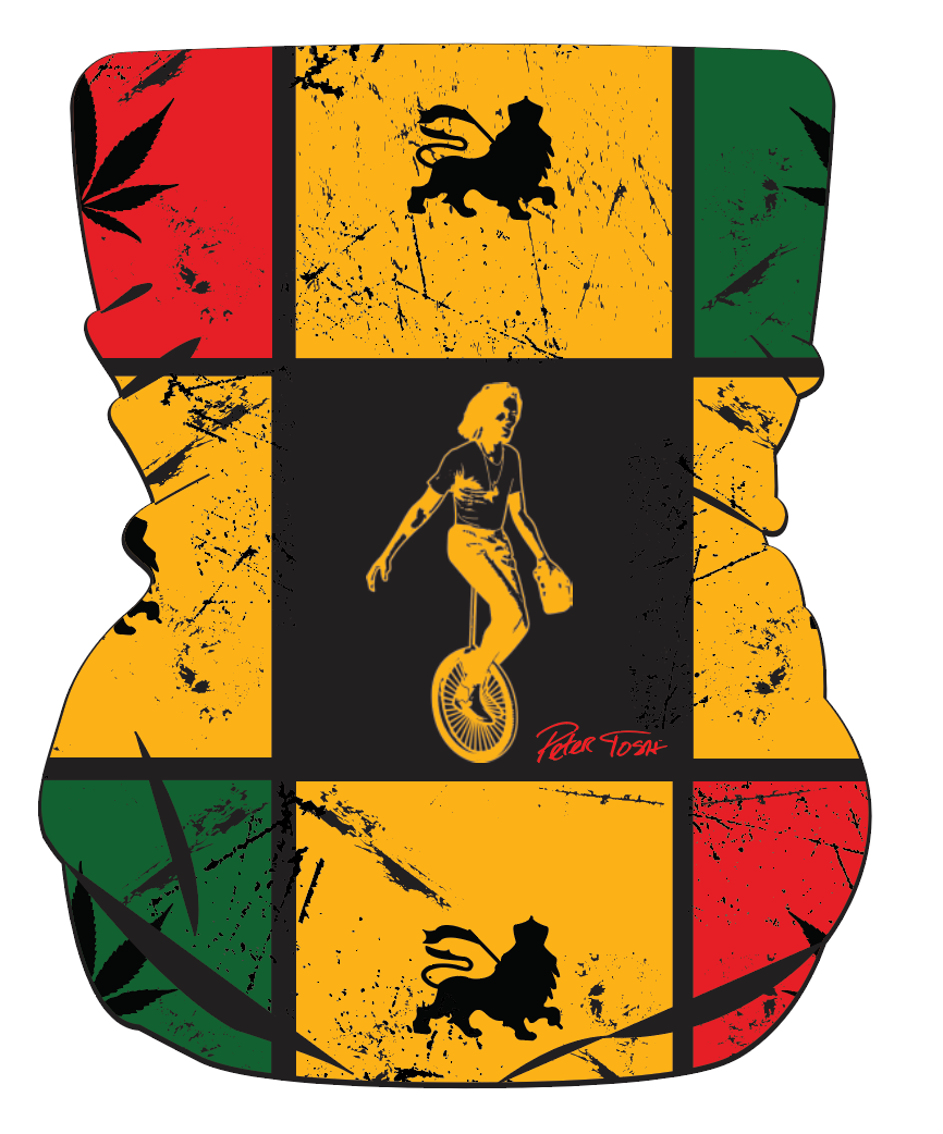 Peter Tosh Multi Use Face Shield - Unicycle