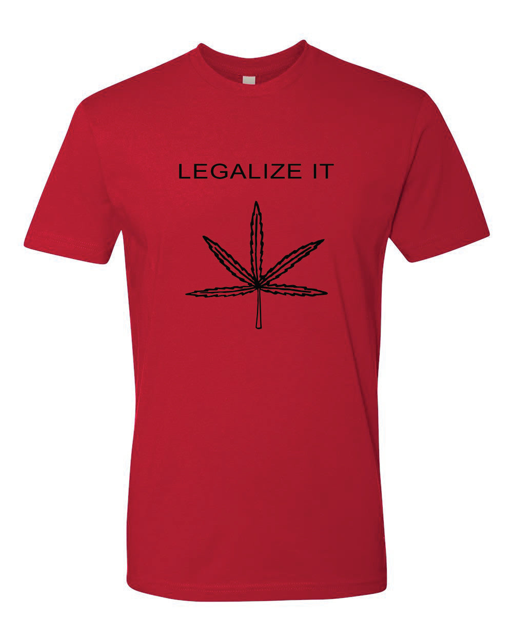 Peter Tosh Legalize It Red Tee