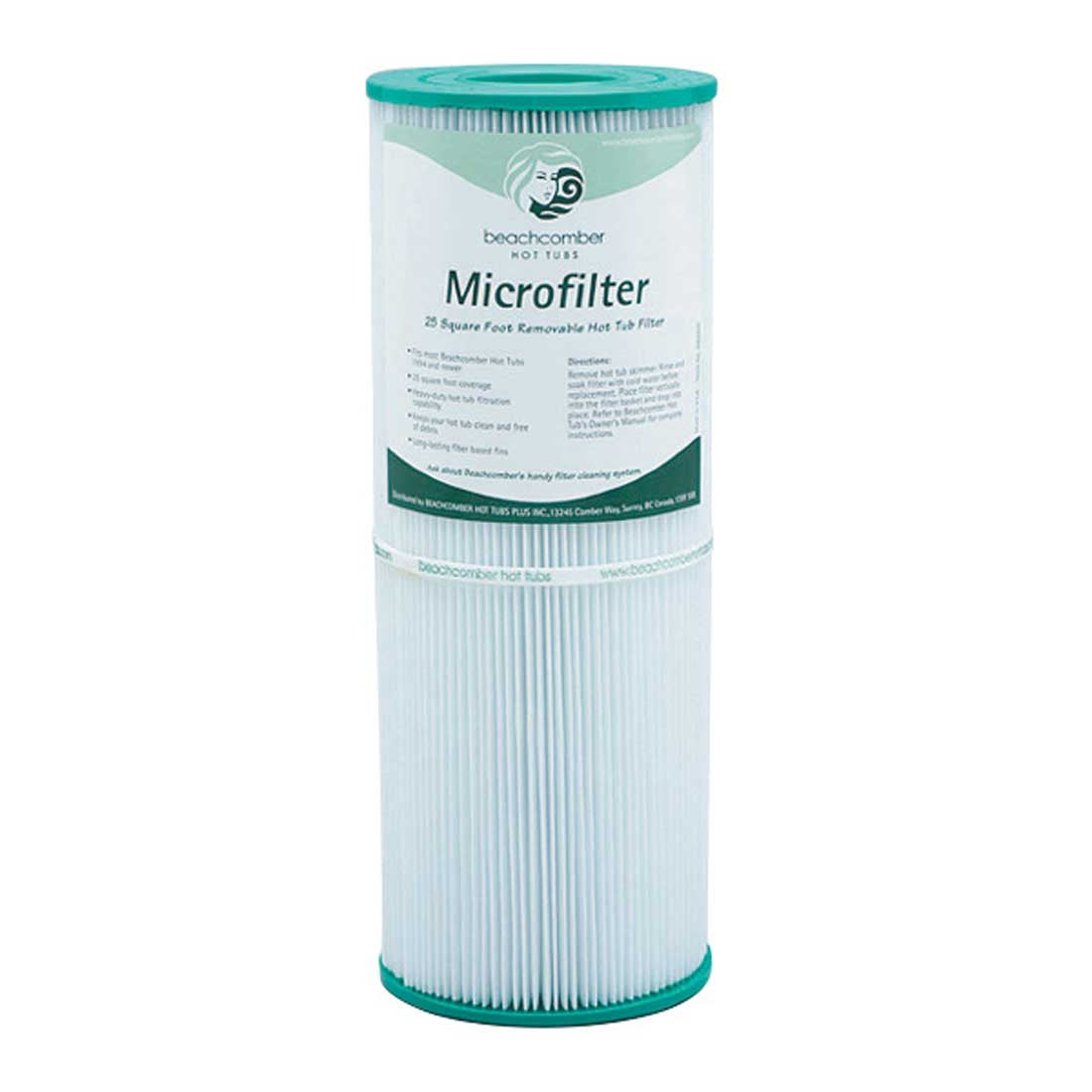 25 Sq/Ft Microfilter Cartridge