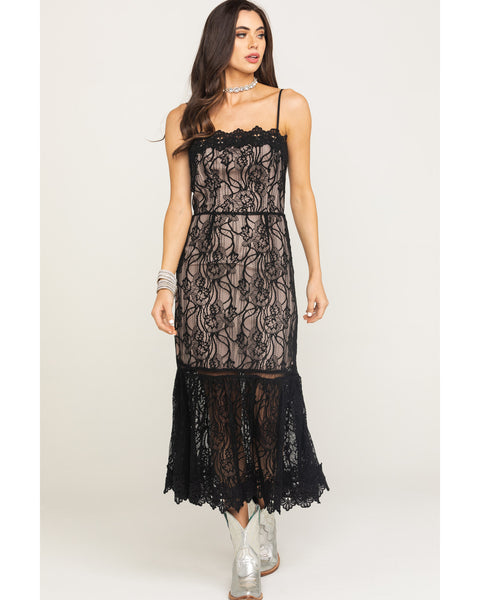 Lace To Face Dress