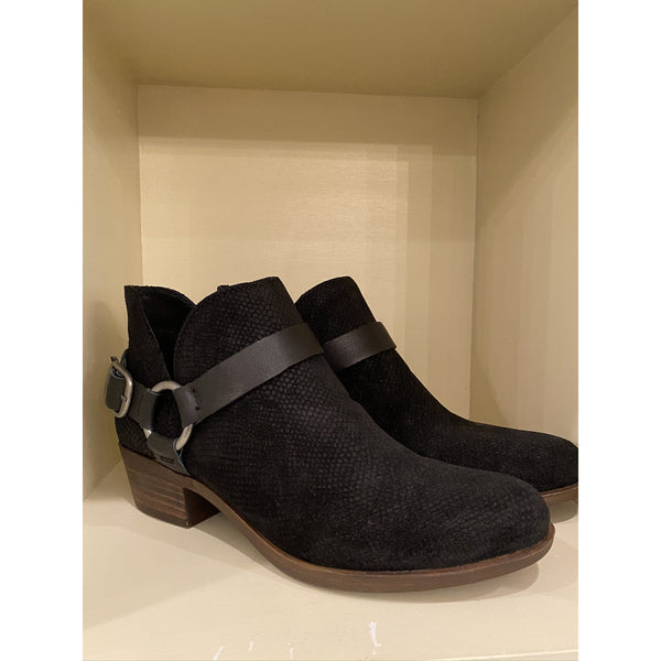 Lucky Brand Black Ankle Boot Lucky Brand