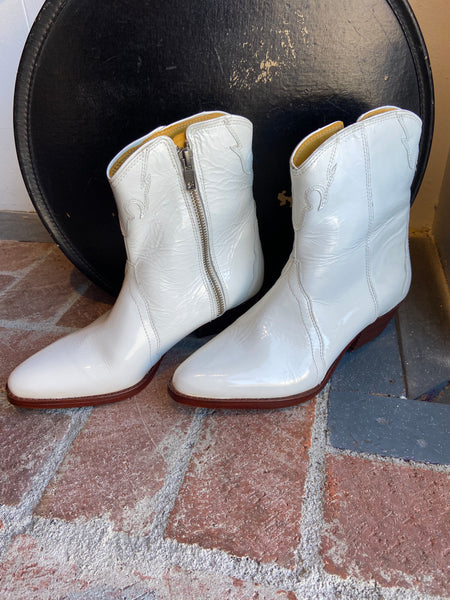 Free People Western White Boot