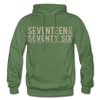 1776 Modern Hoodie - Warrior Unlimited Apparel, LLC