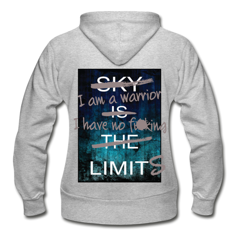 No Limits Women's Hoodie - Warrior Unlimited Apparel, LLC