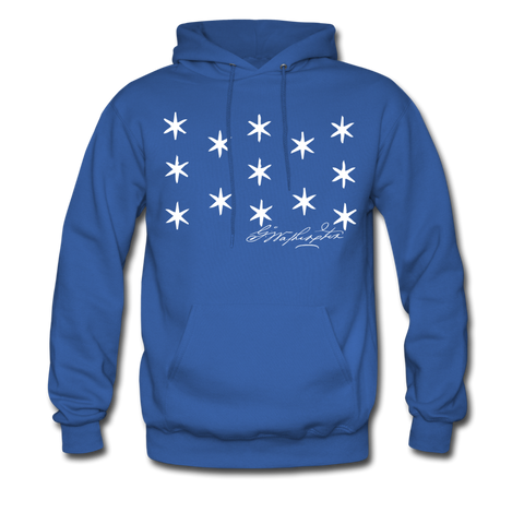 Washington's Headquarters Flag Hoodie - Warrior Unlimited Apparel, LLC