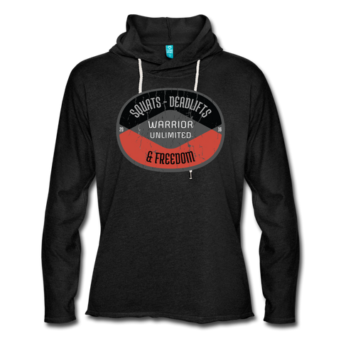 Squats, Deadlifts & Freedom Lightweight Hoodie - Warrior Unlimited Apparel, LLC