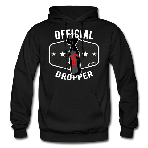 Official F Bomb Dropper Hoodie - Warrior Unlimited Apparel, LLC