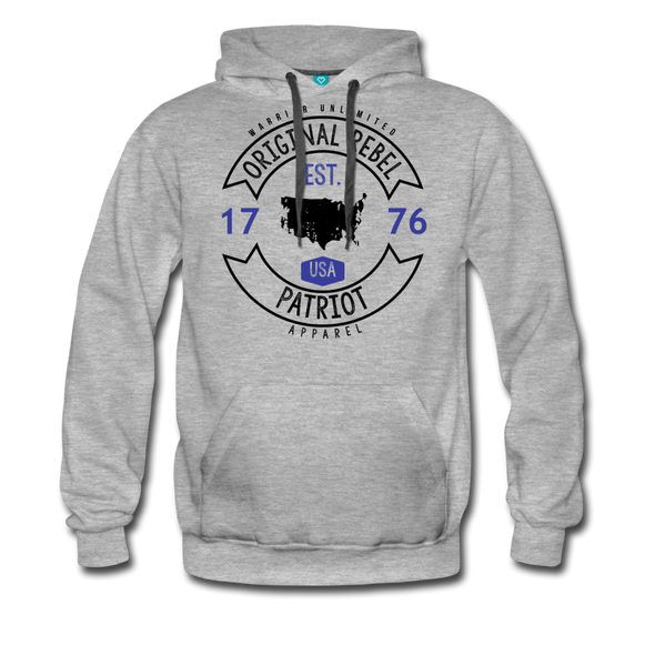 Original Rebel Hoodie - Warrior Unlimited Apparel, LLC