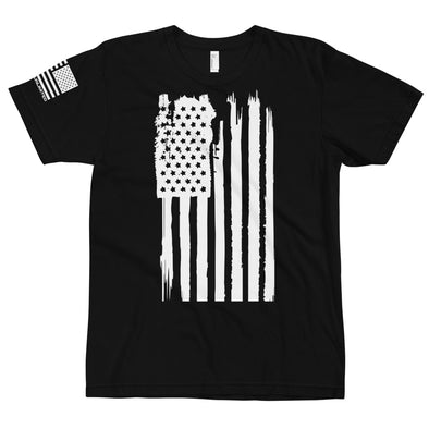 Distress American Flag - Warrior Unlimited Apparel, LLC
