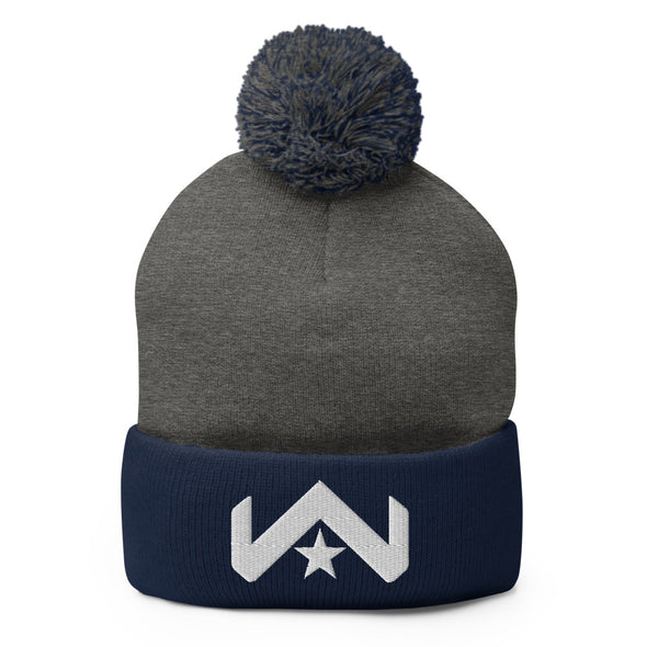 Warrior Pom-Pom Beanie - Warrior Unlimited Apparel, LLC