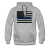 Thin Blue Line Hoodie - Warrior Unlimited Apparel, LLC