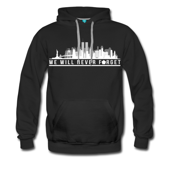 Never Forget 9/11 Hoodie - Warrior Unlimited Apparel, LLC