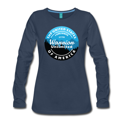 Warrior Sky Women's Long Sleeve T-Shirt - Warrior Unlimited Apparel, LLC