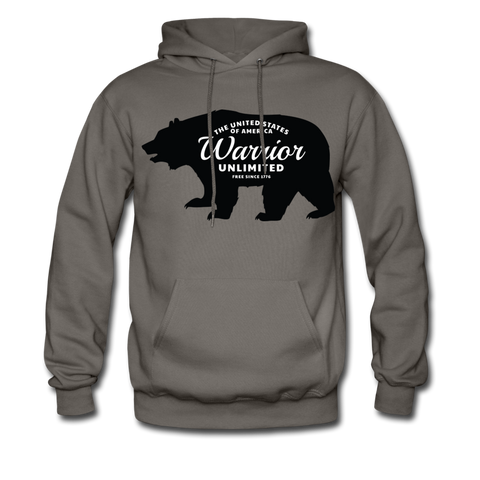 Warrior Bear Hoodie - Warrior Unlimited Apparel, LLC