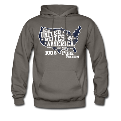 100% Pure Freedom Hoodie - Warrior Unlimited Apparel, LLC
