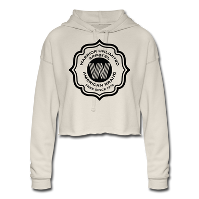 Warrior FLWR Cropped Hoodie - Warrior Unlimited Apparel, LLC