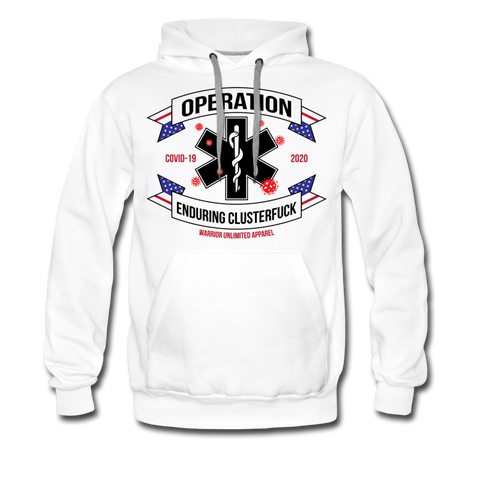 Operation Enduring Clusterf*ck Hoodie - Warrior Unlimited Apparel, LLC