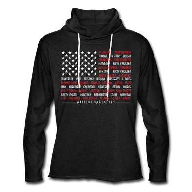 The States Lightweight Hoodie - Warrior Unlimited Apparel, LLC