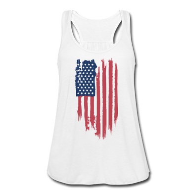 USA Love Women's Flowy Tank Top - Warrior Unlimited Apparel, LLC