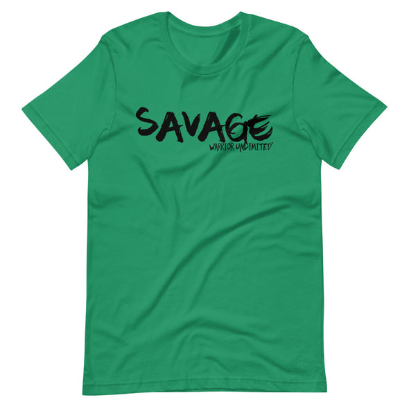 Savage Tee - Warrior Unlimited Apparel, LLC
