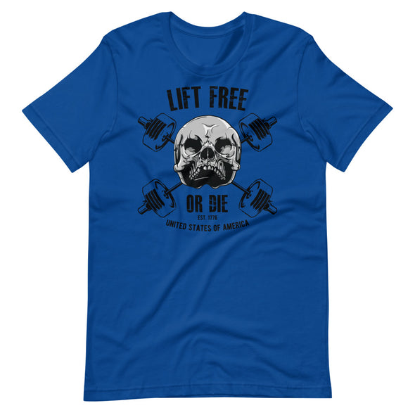 Lift Free or Die - Warrior Unlimited Apparel, LLC