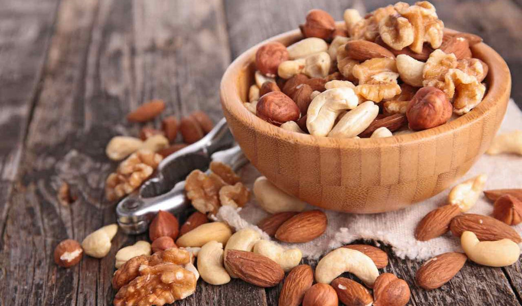 mixed nuts nut cracker cashews almonds hazelnuts pecans walnuts roasted salted