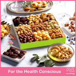 Easter White Mixed Nuts Sectional Gift Box (Fun & Bunnies Included!)