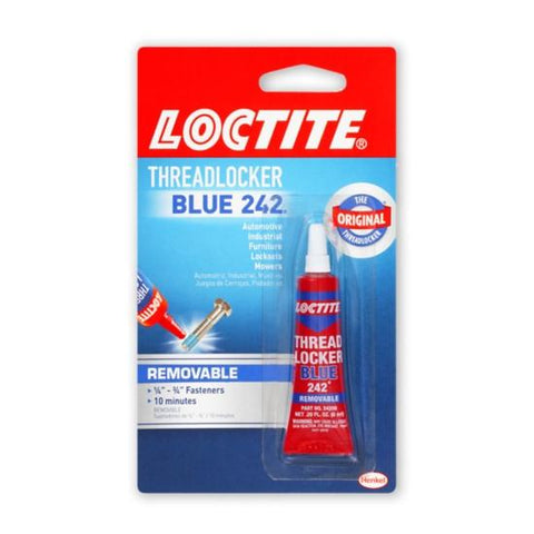 Garage & Tool Supplies CONSUMABLE GT-LT242 -  Loctite 242 Threadlocker 6ml