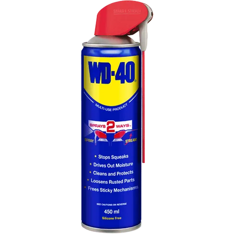 Garage & Tool Supplies CONSUMABLE GT-WD40 -  WD40 Spray Lubrcant 420ML (Smart Straw)