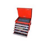 Garage & Tool Supplies Garage Equipment 919-001CRV - King Tony Tool Chest Combination Metric Set 306Pc