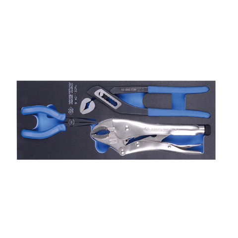 Garage & Tool Supplies Hand tools 9-40113GPV - King Tony 3Pc Plier Set