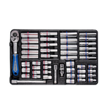 Garage & Tool Supplies Hand tools 911-000CR - King Tony - Tool Chest Combination Metric & Sae 219Pc