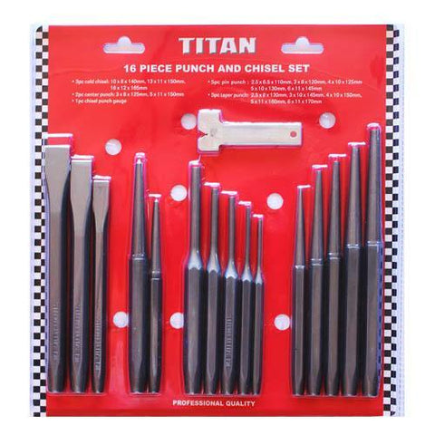 Garage & Tool Supplies Hand tools JPC-2016 - 16Pc Centre Punch Set.