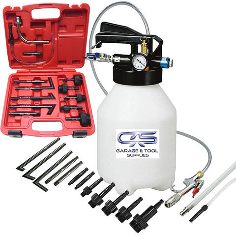 Garage & Tool Supplies Workshop Equipment GT-ATF01 - ATF Oil Dispenser with Adaptors (Pre-Order)