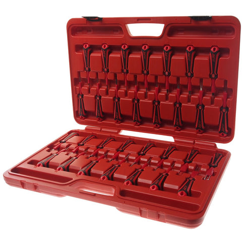 GTS Automotive Specialized Tools JTC-6673 - 30PCS Terminal Release Tool Set