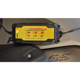 GTS Batterie Charger & Booster Yellow/Red/Black GT-DHCAE150-DHC 12 Volt AutoExact 1.5 Amp Switching Power, Digital Processing Battery Charger / Maintainer.