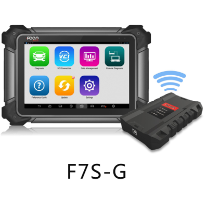 GTS Diagnostic Tool GT-F7S-G - Fcar F7S-G Master (12V / 24V) | Car, Truck & Earth Moving Diagnostic Scanner