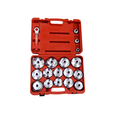 GTS Engine tools JTC-4572 - 18PCS Oil Filter Wrench Set