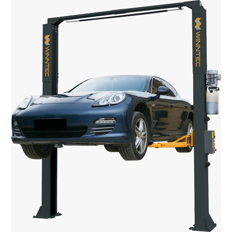 GTS Garage Equipment GT-FL82E - Winntec Two Post Lift Clear floor electric release 4.5 ton capacity